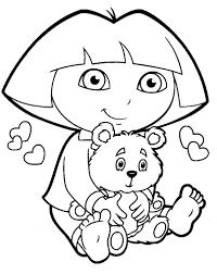 Dora Coloring Pages Best Images