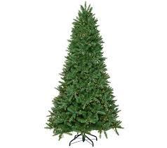 Qvc Christmas Tree Storage Bag by Santa U0027s Best Starry Light Microlight Tree W Color Flip Led Lights