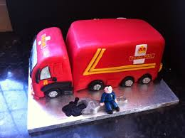 Royal Mail Truck Cake | Birthday | Pinterest | Cake, Truck Cakes And ...
