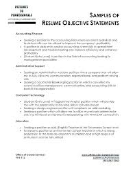 Resume Profile Examples For Engineers Feat How To Write Example Objective Statement