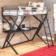 startling loft desk bed for house design full size with underneath