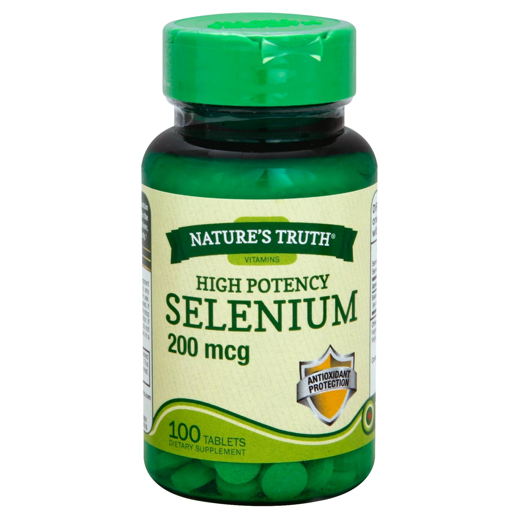 Natures Truth Selenium Supplements - 200mcg, 100ct