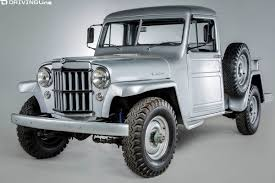 Vintage Omix-ADA Jeep Collection Coming To SEMA | DrivingLine Willys Jeep Parts Fishing What I Started 55 Truck Rare Aussie1966 4x4 Pickup Vintage Vehicles 194171 1951 Fire Truck Blitz Wagon Sold Ewillys 226 Flat Head 6 Cyl Nos Clutch Disk 9 1940 440 Restored By America For Sale Willysjeep473 Gallery 1941 The Hamb Jamies 1960 Build Willysoverland Motors Inc Toledo Ohio Utility 14 Ton 4