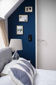 farbharmonie gemütliche wohnung blaue schlafzimmerideen