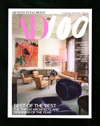 100 Best Magazines For Interior Design Architectural Digest Magazine January 2019 AD 100 Of