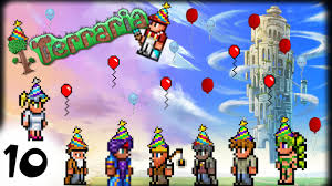 Terraria Chair And Table by Npc Party Broventures Terraria 10 Youtube