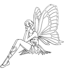 Amazing Coloring Pages Of Fairies 39 In For Kids With