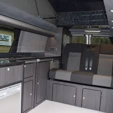 VW T5 LWB Camper Conversion Reimo Roof RIB Bed