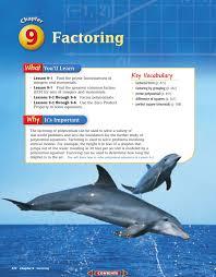 Online Algebra Tiles Factoring by Chapter 9 Factoring