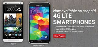 Verizon prepaid LTE service and phones now available Prepaid