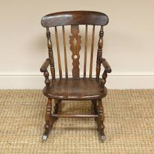 Georgian Child's Elm Antique Windsor Rocking Chair (c. 1800 United ... Antique Wood Rocking Chair Carved Griffin Lion Dragon For 98 Restoring Craftsman Style Oak Youtube Georgian Childs Elm Windsor C 1800 United Vintage Teakwood Rocking Chair Antiques Fniture On Carousell Wrought Iron Leather Marylebone Stock Photos William Iv Mahogany Sold Chairs From The 1800s Collectors Weekly Antique Platform Chairs Classic Wikipedia