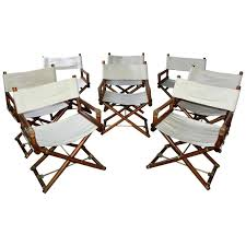Outdoor Director Chairs Set Of Six Vintage Campaign For Sale Tall ... Outdoor Chairs 2 Pcs Teak With Parasol Hole Chbiz Company Fniture Patio Sets By Chair King Texas Rattan Ding Chair Myhexenhausco Cushions Sale Color Tedxoakville Home Design Blog Poolside Lounge Cheap On Chaise Impressive Clearance South Outstanding High Backed Wicker Backed Wicker Modernica Sebel Integra Ex Government Director Set Of Six Vintage Campaign For Tall Stackable Stacking Target Menards Modway Ding On Sale Eei3028gry Endeavor Rattan Armchair Only Only 23505 At Contemporary