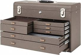 kennedy manufacturing 3611b 11 drawer machinist s chest with