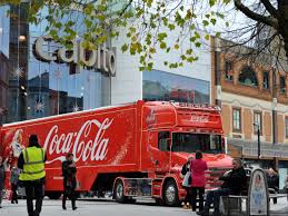 Why The Coca Cola Truck Symbolises Everything That's Wrong With The ... Coca Cola Christmas Truck Tour Dates Announced 2015 Great Days Out Coca Cola Pepsi 7up Drpepper Plant Photosoda Bottle Vending Coke Truck For Malaysia Is It Pinterest Cacola Interactive Map Gb 443012 Led Light Up Red Amazoncouk In Belfast Live 1980s With Accsories Spotted Studio All Set Cacola Philippines Mickey Bodies Cocacola Liverpool 2017 Echo Bottling Coplant Photococa Machine The Onic Tower Bridge Ldon