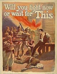 Propaganda Posters Appeared In Earnest During World War One 1914 18 When Each Of The Belligerent Governments Used Them Not Only As A Means Legitimizing