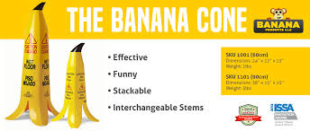 Caution Wet Floor Banana Sign by Wet Floor Sign Statistics