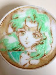 The Recreation Of Sailor Moon Characters On Cups Latte Is Truly A Fascinating Feat For An Anime Slash Coffee Enthusiast But Whats More Impressive