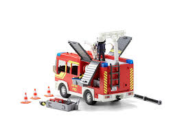 Fire Engine With Lights And Sound - 5363 - PLAYMOBIL® United Kingdom