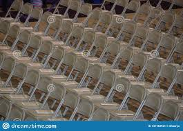 Rows Of Empty Folding Metal Chairs Stock Image - Image Of ... White Chair Juves Party Events Wooden Folding Chairs Event Fniture And Celebration Stock Amazoncom 5 Commercial White Plastic Folding Chairs Details About 5pack Wedding Event Quality Stackable Chair Can Look Elegant For My Boda Hercules Series 880 Lb Capacity Heavy Duty With Builtin Gaing Bracke Mayline 2200fc Pack Of 8 Banquet Seat Premium Foldaway Utility Sliverylake Foldable Steel Rows Image Photo Free Trial Bigstock