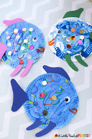 Paper Plate Fish Craft An Easy Painting Idea For Kids Using Toilet Rolls