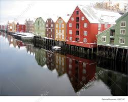 100 Houses In Norway Beautiful Colourful Houses By The River Trondheim