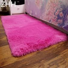 günstige preis 50 160 cm plüsch shaggy weichen teppich bereich teppiche rutschfeste boden matten für wohnzimmer schlafzimmer hause liefert
