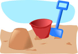 Sand Castle Clipart Simple 2