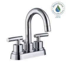 Glacier Bay Bathroom Faucets Instructions by Glacier Bay Dorset 4 In Centerset 2 Handle Bathroom Faucet In