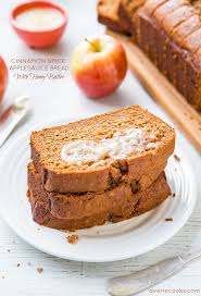 Cinnamon Spice Applesauce Bread with Honey Butter Averie Cooks
