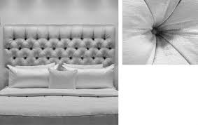 Skyline Button Tufted Headboard by Floor Linen Grey Along With Skyline Furniture King Nail Button