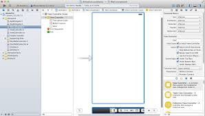 XCode 5 Interface Builder Designer View