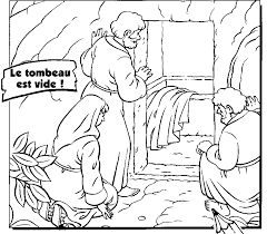 Easter Day Empty Tomb Jesus Resurrection Pictures Coloring Pages