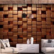details zu abstrakt steine fototapete tapeten 3d effekt wand wohnzimmer kupfer ziegel