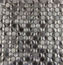 Ebay Decorative Wall Tiles by 3d Penny Round Stainless Steel Metal Mosaic Tile Kitchen