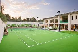How Much Does A Tennis Court Cost? - Hipages.com.au Hamptons Grass Tennis Court Zackswimsmmtk Wish List Pinterest Brilliant Design How Much Is A Basketball Court Easy 1000 Ideas Unique To Build In Backyard Sport Cost With Awesome Sketball Outdoor Sport Tile Backyards Enchanting An Outdoor Tennis 140 To Make The Concrete Slab Is Great Exercise For The Whole Residential Sportprosusa Goods Half Can Add On And Paint In Small Pinteres Multi Poles Voeyball