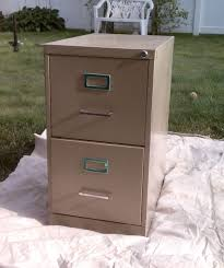 How to Paint a Metal File Cabinet