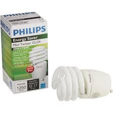 buy philips energy saver t2 gu24 cfl light bulb