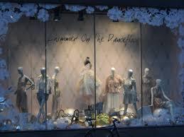 Worlds Best Dresses Christmas Shop Window Display Miss Selfridge Shimmer On The Dance Floor