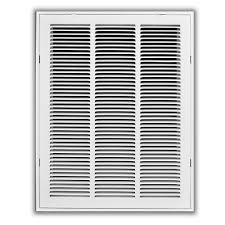 everbilt 16 in x 20 in white return air filter grille h190 16x20