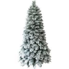 Vickerman Pre Lit Flocked Christmas Tree by Holiday Time Artificial Christmas Trees Pre Lit 7 5 U0027 Flocked