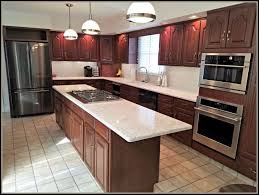 1980s Traditional Kitchen Update After With Lighting