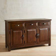 Dawson Walnut Brown Buffet Table