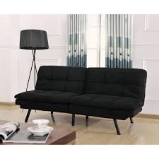 Mainstays Sofa Sleeper Black Faux Leather by Furniture Walmart Faux Leather Futon Pull Out Couch Walmart
