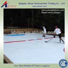 indoor interlocking roller hockey court flooring tile in