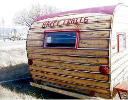 Vintage Painted Cowgirl Western Shasta Trailer