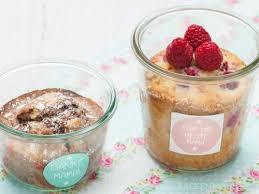 muttertags kuchen im glas