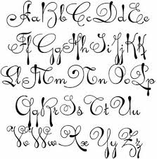different letters styles Google Search