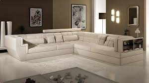 grand canape d angle 12 places grand canap d angle en cuir vachette blanc 10 confort 5 convertible