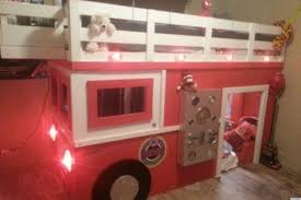 Bedroom Fire Truck Bunk Bed For Inspiring Unique Bed Design Ideas ...