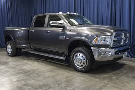 Used 2016 Dodge Ram 3500 Laramie Dually 4x4 Diesel Truck For Sale ...